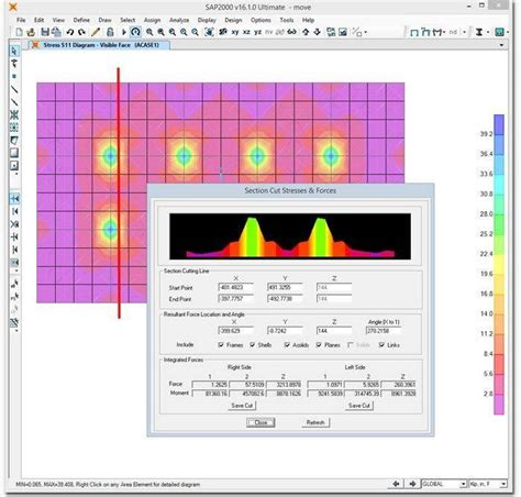 sap2000 section designer features structural analysis and design sap2000