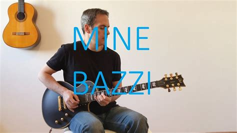 bazzi mine chord bazzi mine electric guitar cover with tabs youtube