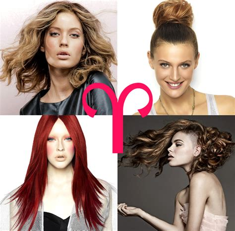 Aries Hairstyles | hair zodiac hairstyles and colors by horoscope