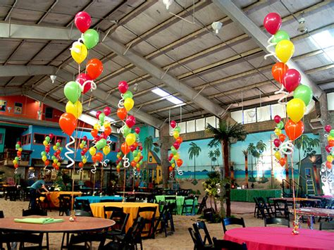 Tropical Decorations by Balloon Decor Balloondeliverydenver