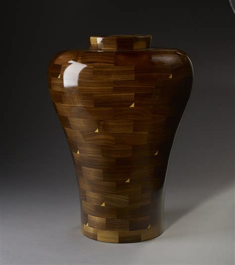 Handmade Wooden Urns - handmade family or segmented cremation funeral