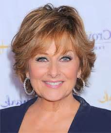 Short layered hairstyles for women over 60 with round faces