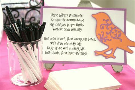 baby shower door prize ideas merry marleen darci s baby shower brunch