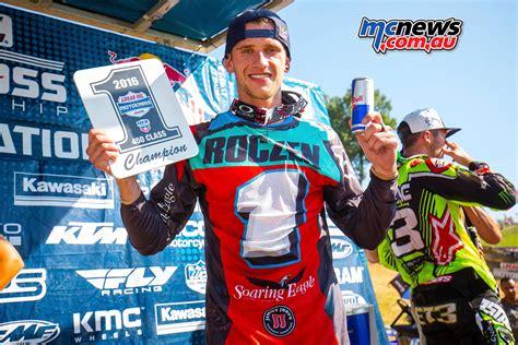 lucas oil ama motocross live suzuki celebrate ken roczen s ama mx title victory