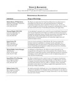 Template sample example format reference list examples for jobs resume