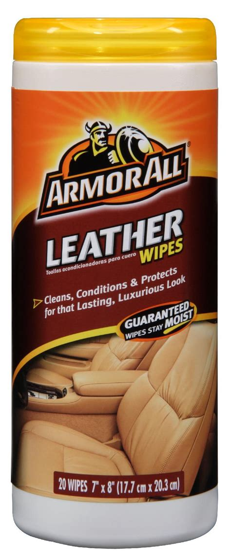 upc  armor  leather cleaning wipes ct armor  products corporation