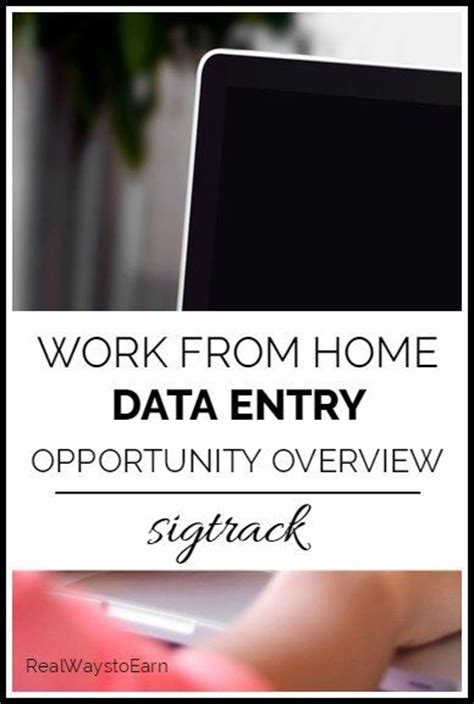 data entry from home and home on