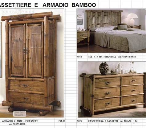 armadio bamboo armadio zante in bamboo nuova vimini