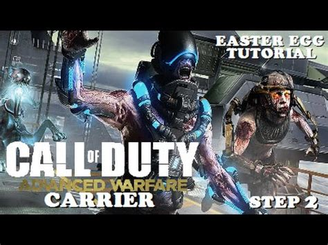 exo zombies carrier easter egg exo zombies quot carrier quot easter egg tutorial step 2 weapon