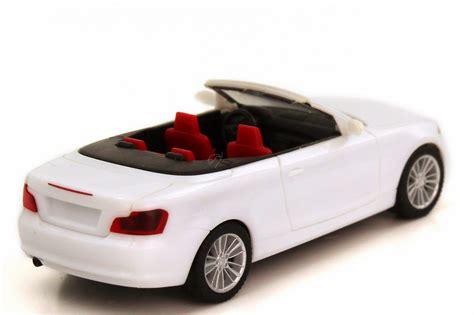 Bmw 1er Cabrio Modellauto by Bmw 1er Cabrio E88 Wei 223 Herpa 023979 Bild 2
