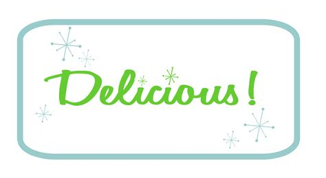 word clipart delicious cliparts