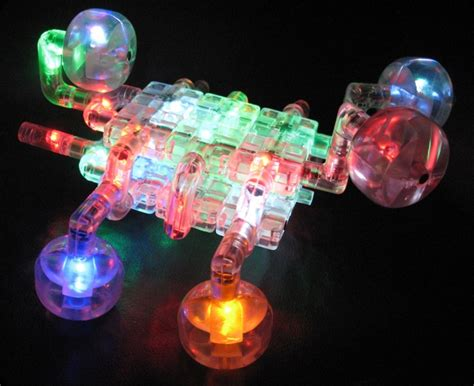 Light Toys by Light Up Construction Kit Is Light On The Wired