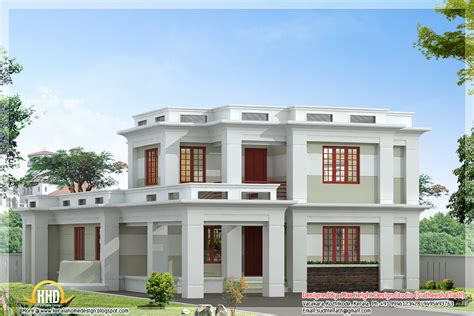 flat roof houses design flat roof modern home design 2360 sq ft kerala home design and floor plans