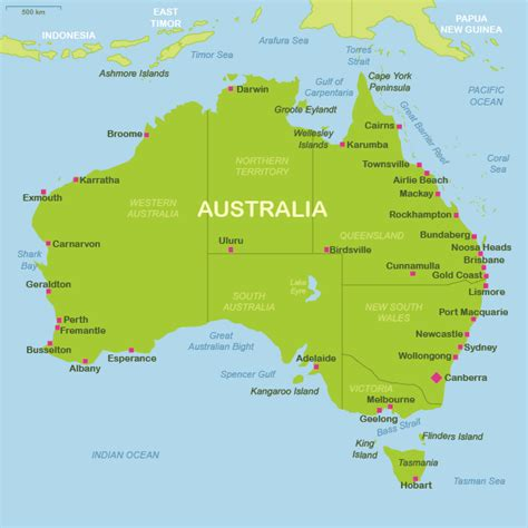 map of airports australia map airports