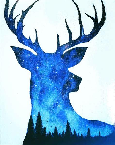 paint nite deer this is an high quality print of my original deer painting