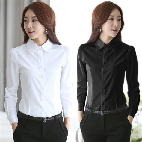Fashion Find Staple Shirt For Work by 2016 New Fashion White Shirt Work Wear Sleeve