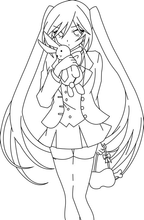 Pandora Hearts Coloring Pages | pandora hearts free colouring pages