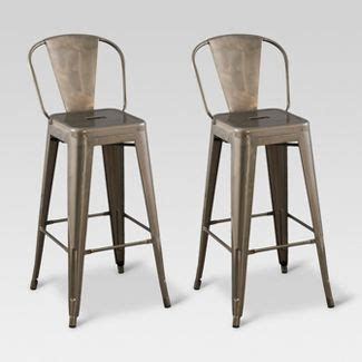 Carlisle 24 Counter Stool With Wood Seat Metal by Carlisle 24 Quot Metal Counter Stool Threshold Target