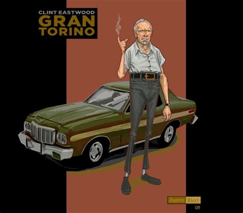 What Do Colors Mean by Gran Torino Clint Eastwood By Juarezricci On Deviantart