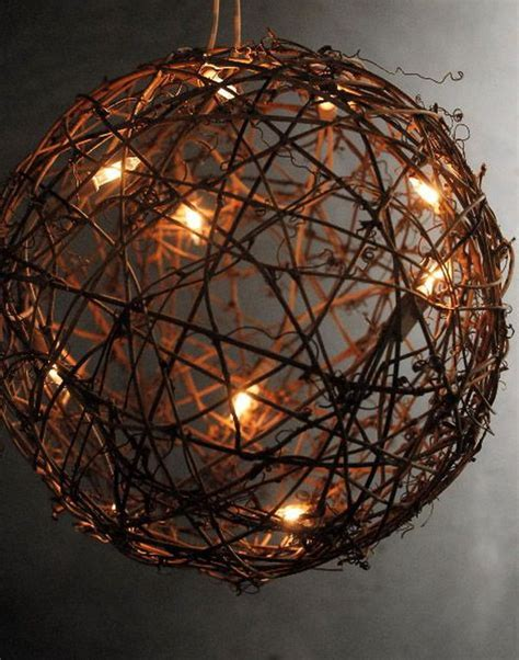grapevine lighting of the tree diy ideas with twigs or tree branches hative