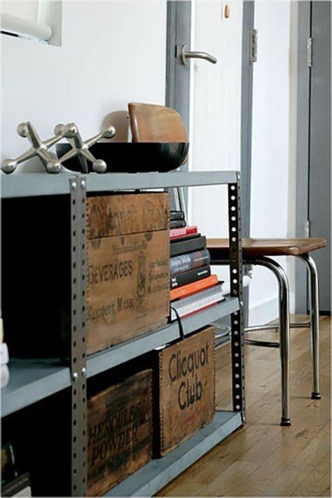 Vintage Garage Shelving 34 Best Industrial Distressed Living Room Images On