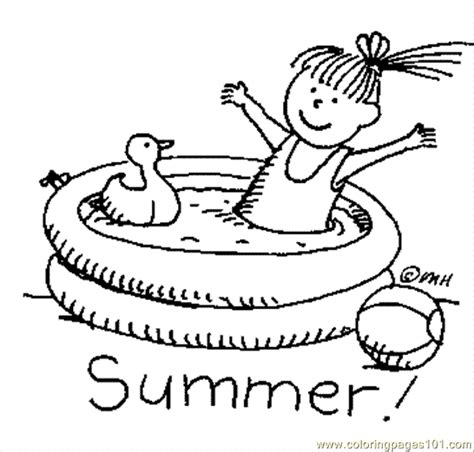 coloring pages summerlh8 sports gt swimming free
