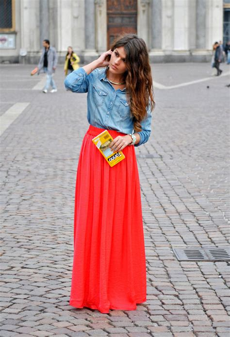 are maxi skirts still in style 27 maxi dresses and maxi skirt the best street style