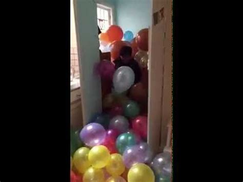 how many balloons to fill a room mighty filling hank s room with balloons