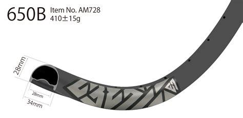 Rims Carbon Merk Light Bicycle 650b am728 asymmetric profile carbon 27 5 inch mtb rims