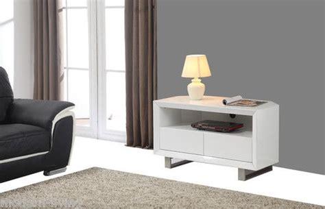 fusion white high gloss corner tv lcd unit furniture
