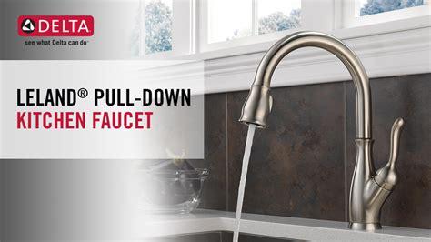 Leland Kitchen Faucet delta leland single handle pull down sprayer kitchen