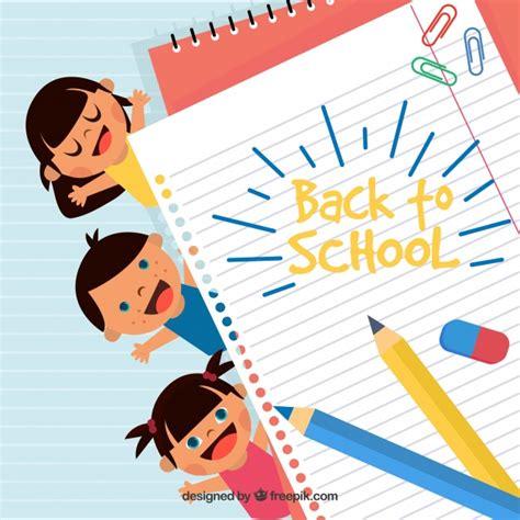 School Background Buscar Con School by Fondo De La Vuelta Al Cole Con Ni 241 Os Felices Descargar