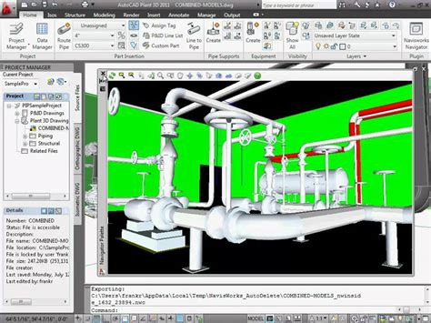 Navisworks In Autocad Plant 3d Youtube