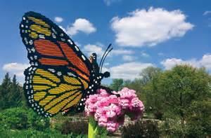 Gainesville Butterfly Garden by New Gainesville Garden To Open Lego Nature Exhibit Sept