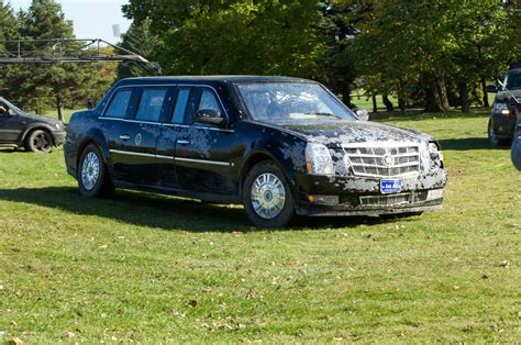 the beast cadillac driving the cadillac presidential limo from quot white house quot