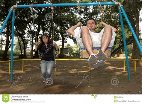 swing swing together swing 2 royalty free stock image image 1400206