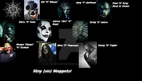 image gallery slipknot members