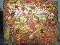 Lukisan Adrien Jean Le Mayeur De Merpres De Meisje Bali In Morgen informasi wisata dan budaya museum le mayeur bali