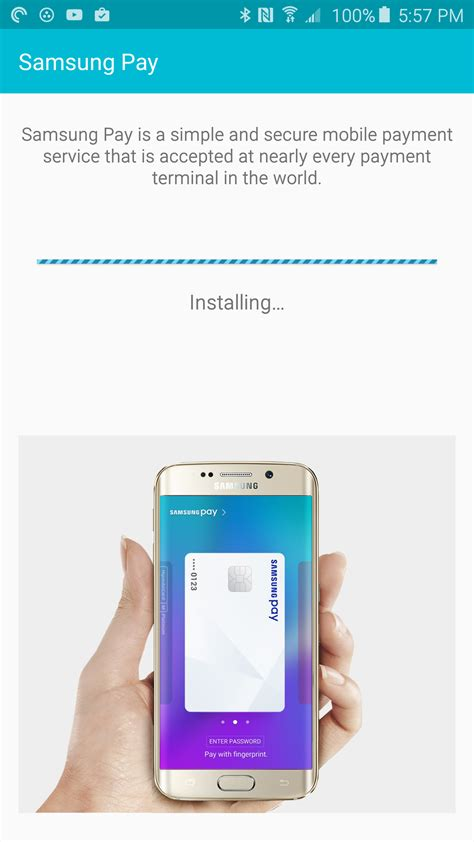 Will Samsung Play Store Samsung Pay App Arrives In The Play Store For The Four