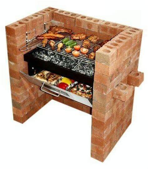 asadores ladrillo ideas  pinterest asadores de ladrillos chimenea  horno