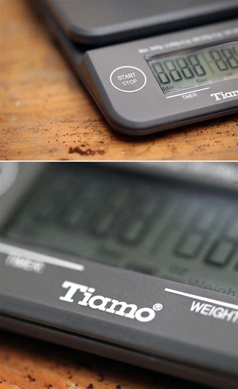 Tiamo Digital Scale With Timer Timbangan Kopi Digital Max 2kg tiamo digital scale cikopi