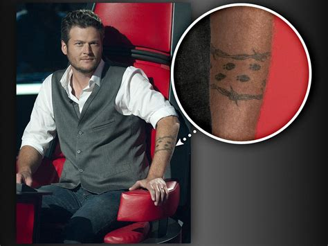 blake tattoo shelton tattoos house net worth