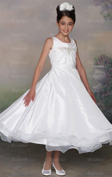 Handmade Bridesmaid Dresses Uk - custom made tulle taffeta white bridesmaid dress bnnak0190
