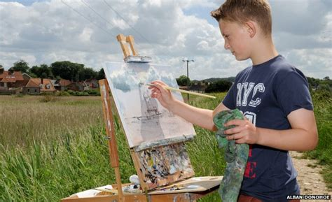 painting for 11 years kieron williamson paintings valued at 163 400 000 news