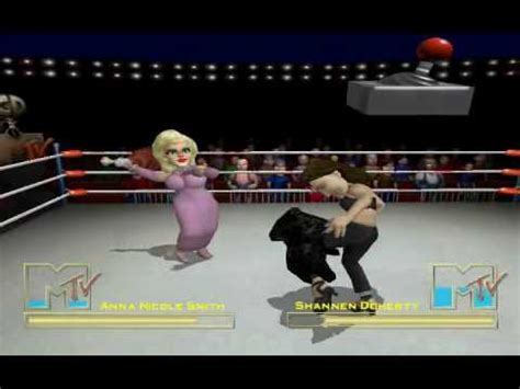 celebrity deathmatch box set celebrity deathmatch the game anna nicole vs shannen
