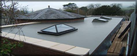 grp fibreglass flat roof to flat roof repair grp fibre glass roofing bearsden milngavie