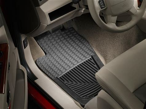 weathertech 174 all weather floor mats jeep commander 2006 2010 black ebay