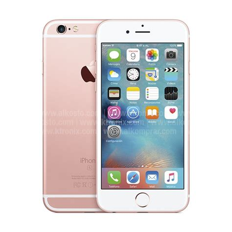 iphone 6s plus 16gb rosado ktronix tienda