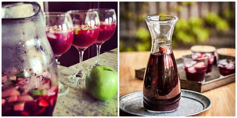 qu vino con este bebidas que puedes preparar con vino tinto comida