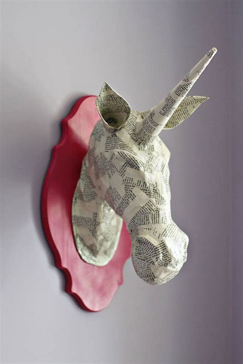 Cool Things To Make Out Of Paper Mache - 9 fauna friendly diy paper mache animal heads shelterness